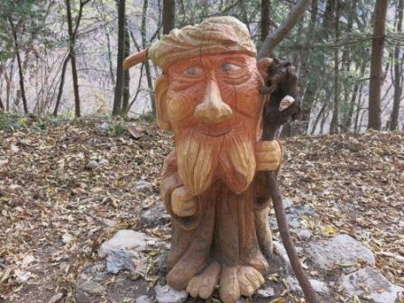 il sentiero dello spirito del bosco
