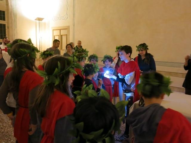 notte museo villa vescovi