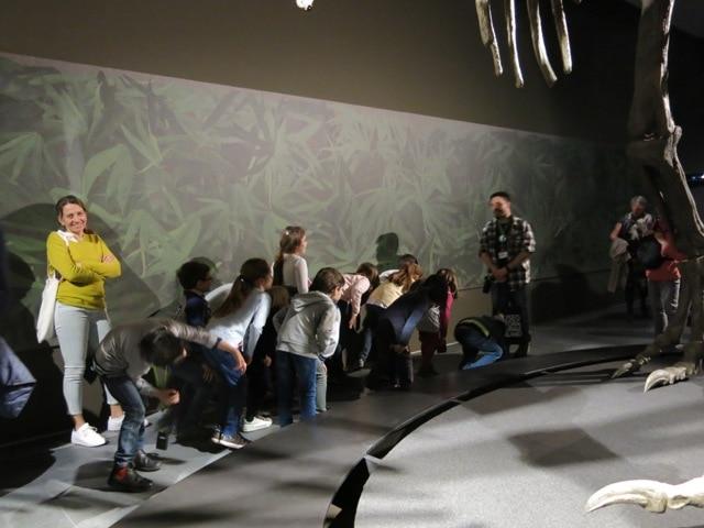 La visita alla mostra è terminata davvero alla grande e ha messo ancora più curiosità ai piccoli paleontologi presenti che, ormai acquisite le competenze per diventare veri Dino-Detective, sono partiti carichi per la seconda parte della giornata: il laboratorio didattico.