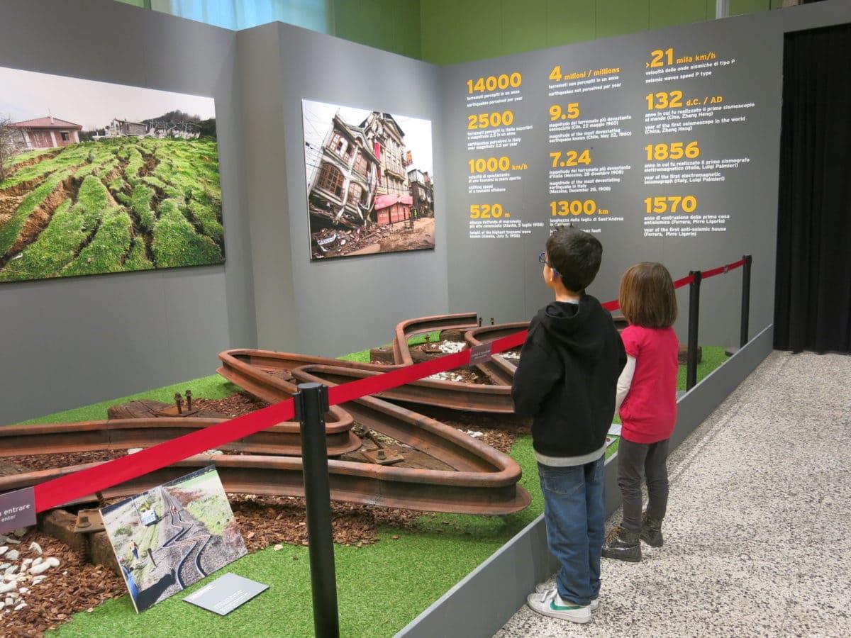 La mostra sui terremoti al museo di storia naturale di for Tessera musei lombardia