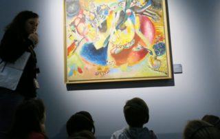 Kandinskij con i bambini