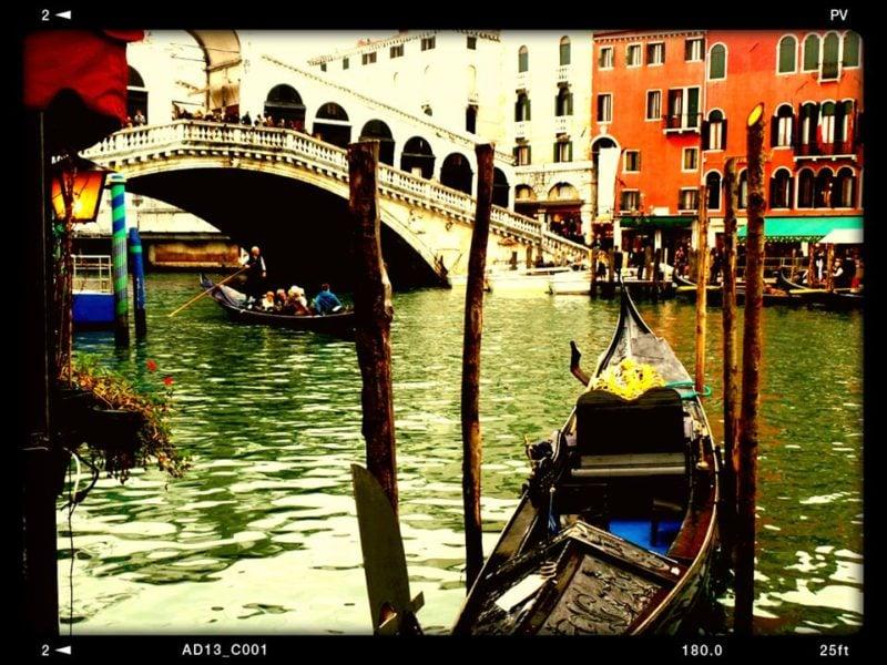 venezia col passeggino