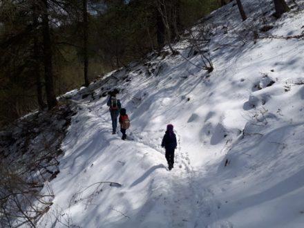 trekking con bambini vicino a milano