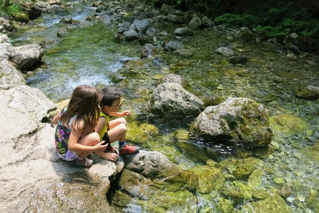 trekking con bambini vicino bergamo