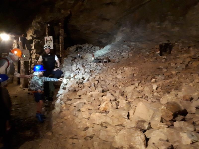 visita alla miniera dei Resinelli
