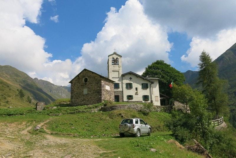 trekking con i bambini in Val Biandino