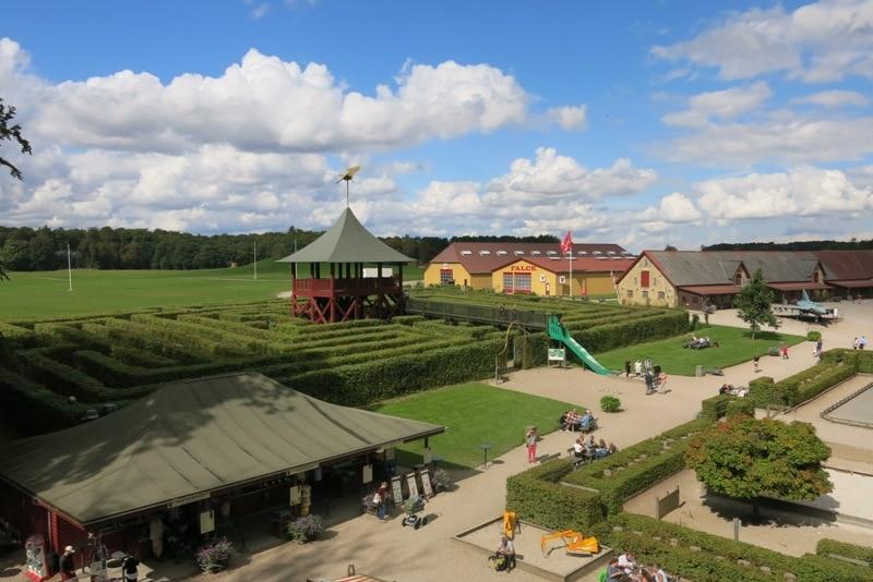 castello di egeskov con i bambini