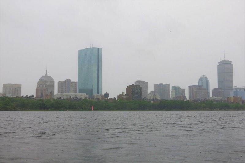 boston con i bambini