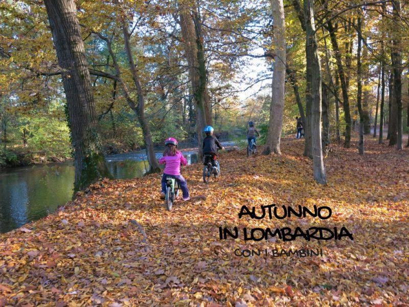 autunno con bambini in lombardia