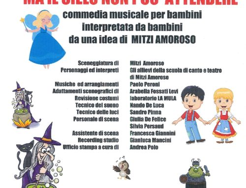 Ma il cielo non può attendere: spettacolo musicale per bambini al Teatro Wagner di Milano