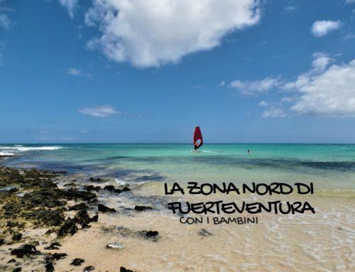 L'entroterra e le spiagge nella zona nord di Fuerteventura con i bambini