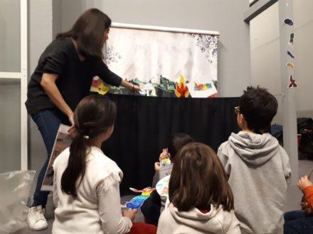 mostra di chagall con i bambini