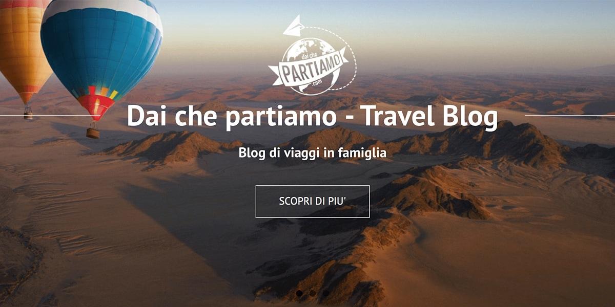 Dai che partiamo blog di viaggi in famiglia travel blog for Vacanze in famiglia