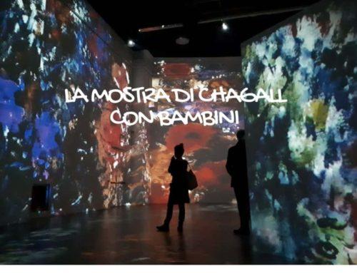 Visita alla mostra di Chagall con i bambini