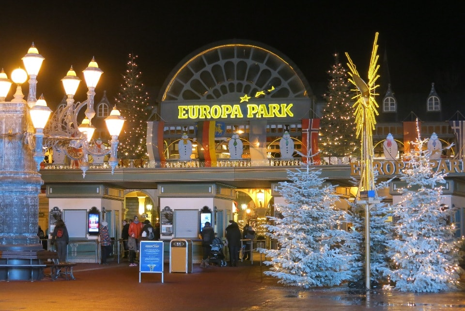 europa park a natale