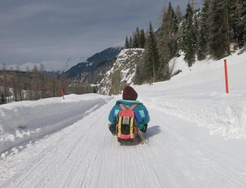 Slittata Preda Bergün: la pista per slittini in Svizzera