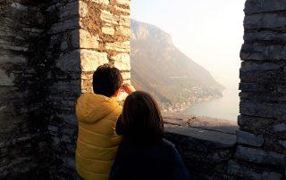 visita al castello di vezio