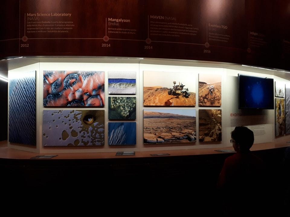 visita alla mostra su marte