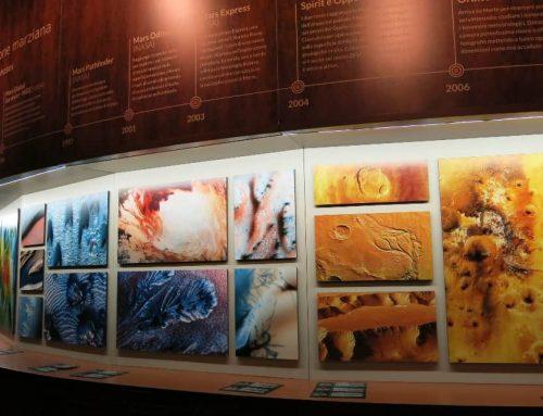 Visita alla mostra su Marte a Milano