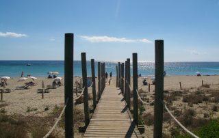 spiagge di minorca per bambini