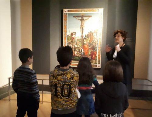 Visita alla mostra di Raffaello a Bergamo con i bambini