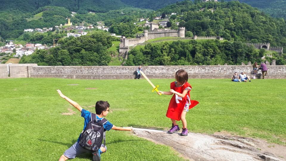 visita ai castelli di bellinzona