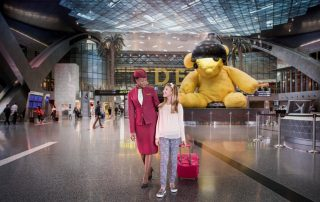 Qatar Airways con i bambini