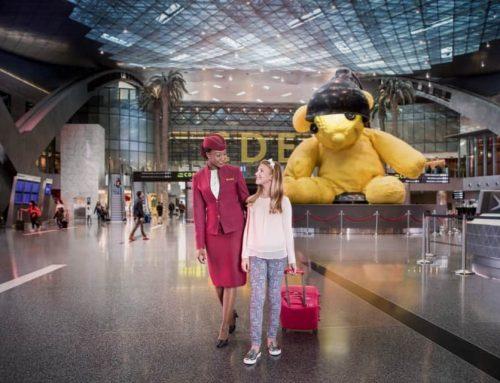 Volare con Qatar Airways con i bambini