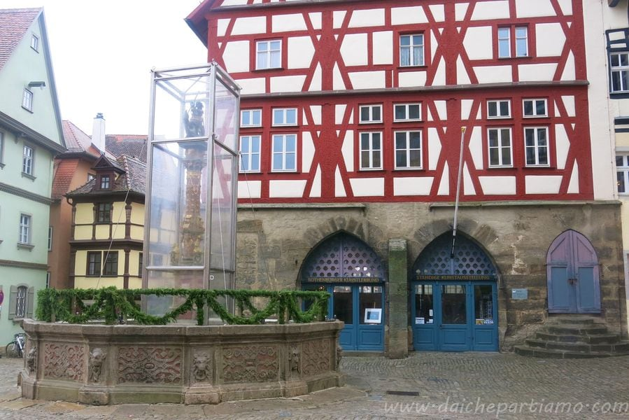cosa vedere a rothenburg