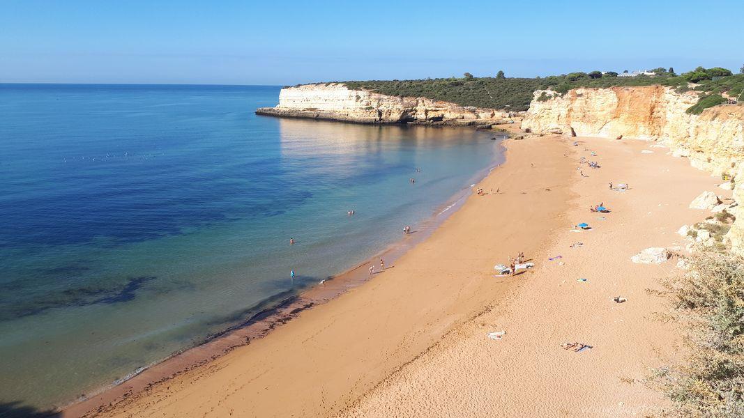 spiagge più belle dell'Algarve Ovest con bambini