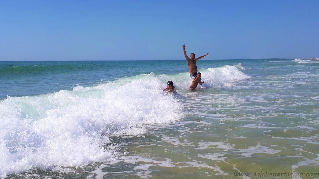 spiagge più belle dell'Algarve Est con bambini