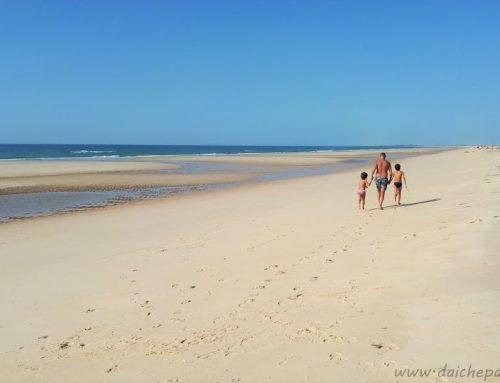 Le spiagge più belle dell'Algarve Est con bambini