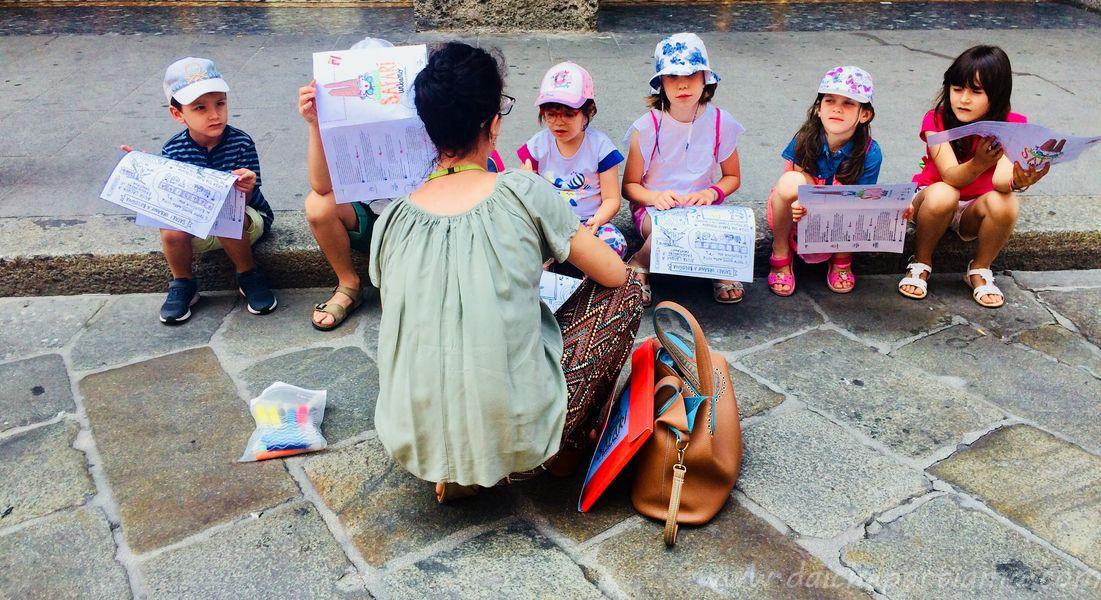 Bologna e Fico con bambini