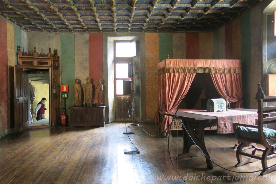 Visita al castello di Issogne