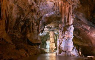 grotte di Postumia con bambini