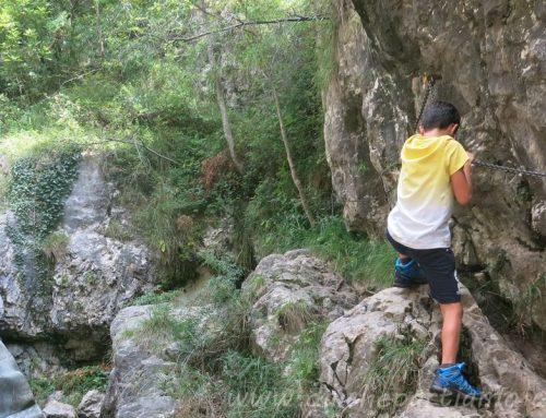 Il sentiero delle Vasche con bambini e la Piana di San Tomaso a Valmadrera