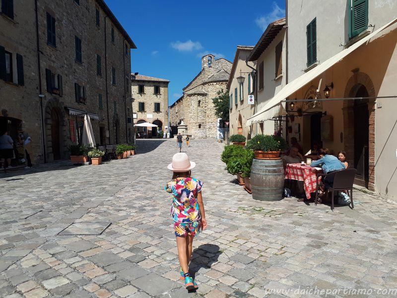 borghi della Romagna