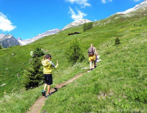 Weekend in Svizzera con bambini: la Lötschental