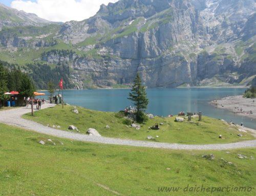 Escursione al lago di Oeschinen, il lago alpino più bello d'Europa