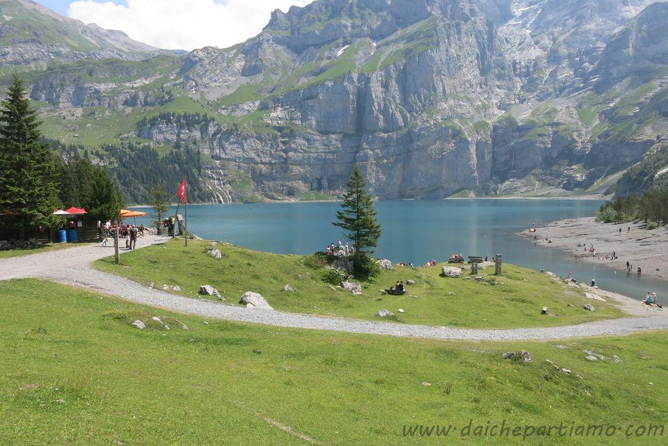 Escursione al lago di Oeschinen