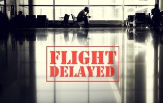 volo in ritardo per più di 3 ore